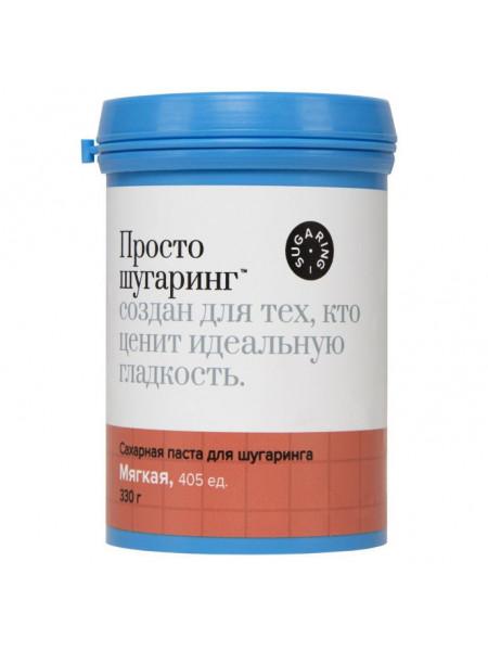 Gloria Сахарная паста для депиляции мягкая Просто Шугаринг, 0,33 кг