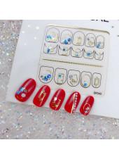 3D наклейки для дизайна ногтей №45