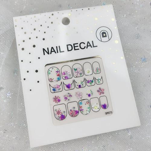 3D наклейки для дизайна ногтей №73