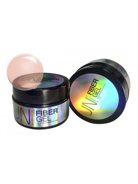 Гель со стекловолокном JN Fiber Gel 15г №08