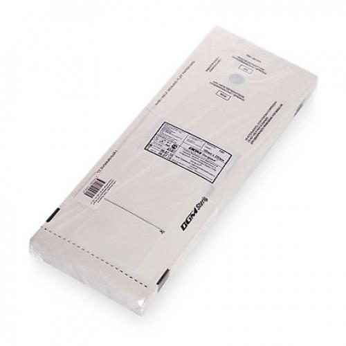 Пакеты бумажные самозапечатывающиеся для стерилизации DGM STERIGUARD 100x250 мм (белые) 100 шт. в Ижевске