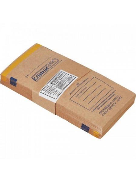 "Пакеты бумажные самоклеящиеся ""Клинипак"" 115х200 (крафт, 100шт.)"