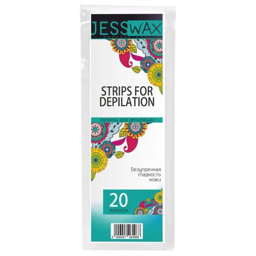 Полоски для депиляции JN JessWax 7x20 см (20 шт./пачка) в Ижевске