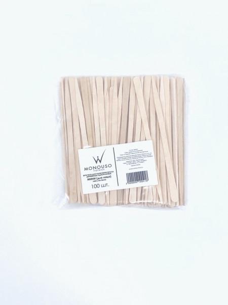 Шпатели для депиляции мини для лица (Упаковка 100 шт.) Italwax